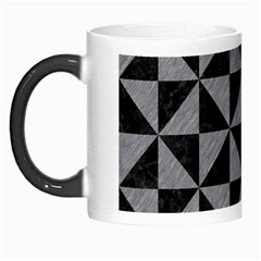 Triangle1 Black Marble & Gray Colored Pencil Morph Mugs by trendistuff