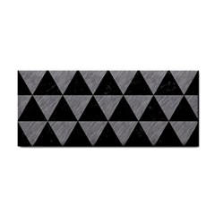 Triangle3 Black Marble & Gray Colored Pencil Cosmetic Storage Cases by trendistuff