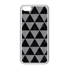 Triangle3 Black Marble & Gray Colored Pencil Apple Iphone 5c Seamless Case (white) by trendistuff