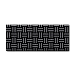 Woven1 Black Marble & Gray Colored Pencil Cosmetic Storage Cases by trendistuff