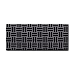 Woven1 Black Marble & Gray Colored Pencil (r) Cosmetic Storage Cases by trendistuff