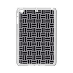 Woven1 Black Marble & Gray Colored Pencil (r) Ipad Mini 2 Enamel Coated Cases by trendistuff