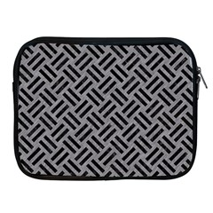 Woven2 Black Marble & Gray Colored Pencil (r) Apple Ipad 2/3/4 Zipper Cases by trendistuff