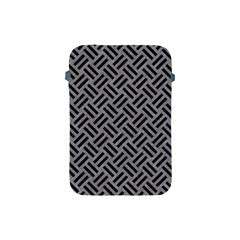 Woven2 Black Marble & Gray Colored Pencil (r) Apple Ipad Mini Protective Soft Cases by trendistuff