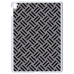 Woven2 Black Marble & Gray Colored Pencil (r) Apple Ipad Pro 9 7   White Seamless Case by trendistuff
