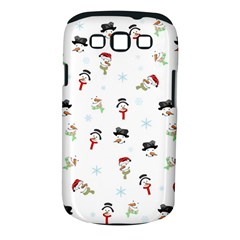 Snowman Pattern Samsung Galaxy S Iii Classic Hardshell Case (pc+silicone) by Valentinaart