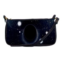 Brightest Cluster Galaxies And Supermassive Black Holes Shoulder Clutch Bags by Mariart