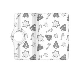 Ginger Cookies Christmas Pattern Kindle Fire Hdx 8 9  Flip 360 Case by Valentinaart