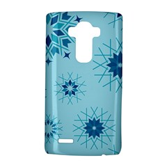 Blue Winter Snowflakes Star Lg G4 Hardshell Case by Mariart