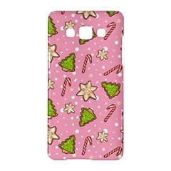 Ginger Cookies Christmas Pattern Samsung Galaxy A5 Hardshell Case  by Valentinaart
