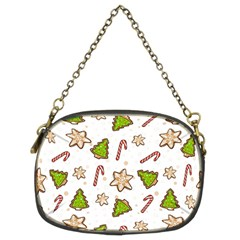 Ginger Cookies Christmas Pattern Chain Purses (two Sides)  by Valentinaart