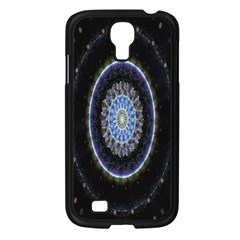 Colorful Hypnotic Circular Rings Space Samsung Galaxy S4 I9500/ I9505 Case (black) by Mariart