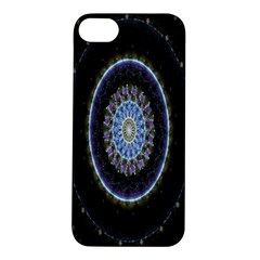 Colorful Hypnotic Circular Rings Space Apple Iphone 5s/ Se Hardshell Case by Mariart