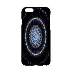 Colorful Hypnotic Circular Rings Space Apple Iphone 6/6s Hardshell Case by Mariart