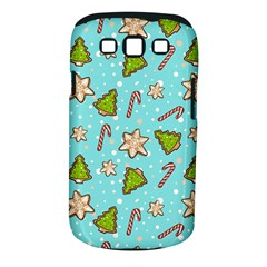 Ginger Cookies Christmas Pattern Samsung Galaxy S Iii Classic Hardshell Case (pc+silicone) by Valentinaart