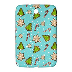 Ginger Cookies Christmas Pattern Samsung Galaxy Note 8 0 N5100 Hardshell Case  by Valentinaart