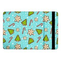 Ginger Cookies Christmas Pattern Samsung Galaxy Tab Pro 10 1  Flip Case by Valentinaart