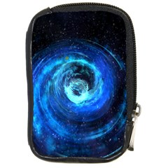 Blue Black Hole Galaxy Compact Camera Cases by Mariart