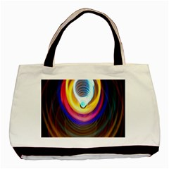 Colorful Glow Hole Space Rainbow Basic Tote Bag by Mariart