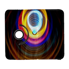 Colorful Glow Hole Space Rainbow Galaxy S3 (flip/folio) by Mariart
