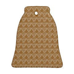 Cake Brown Sweet Ornament (bell) by Mariart
