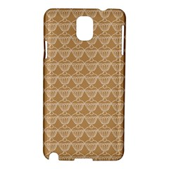 Cake Brown Sweet Samsung Galaxy Note 3 N9005 Hardshell Case by Mariart