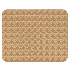 Cake Brown Sweet Double Sided Flano Blanket (medium)  by Mariart