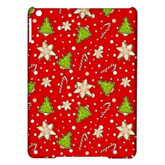 Ginger Cookies Christmas Pattern Ipad Air Hardshell Cases by Valentinaart