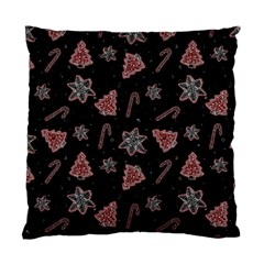Ginger Cookies Christmas Pattern Standard Cushion Case (one Side) by Valentinaart
