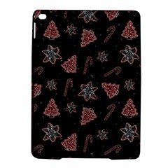 Ginger Cookies Christmas Pattern Ipad Air 2 Hardshell Cases by Valentinaart