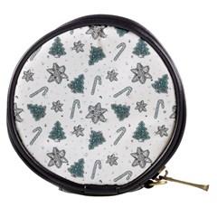 Ginger Cookies Christmas Pattern Mini Makeup Bags by Valentinaart