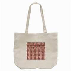 Clipart Embroidery Star Red Line Black Tote Bag (cream) by Mariart