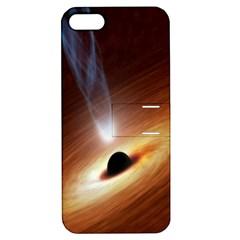 Coming Supermassive Black Hole Century Apple Iphone 5 Hardshell Case With Stand by Mariart