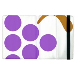 Fruit Grape Purple Apple Ipad 2 Flip Case by Mariart