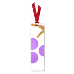 Fruit Grape Purple Small Book Marks by Mariart
