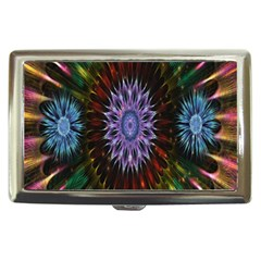 Flower Stigma Colorful Rainbow Animation Gold Space Cigarette Money Cases by Mariart
