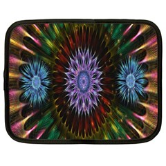 Flower Stigma Colorful Rainbow Animation Gold Space Netbook Case (xxl)  by Mariart