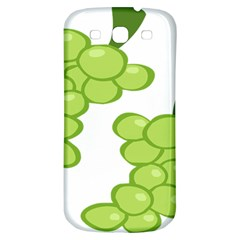 Fruit Green Grape Samsung Galaxy S3 S Iii Classic Hardshell Back Case by Mariart