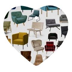 Furnitur Chair Ornament (heart) by Mariart