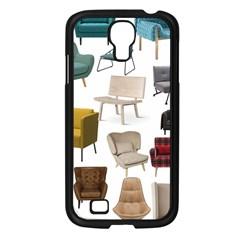 Furnitur Chair Samsung Galaxy S4 I9500/ I9505 Case (black) by Mariart
