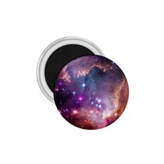 Galaxy Space Star Light Purple 1 75  Magnets by Mariart