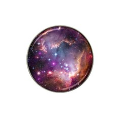 Galaxy Space Star Light Purple Hat Clip Ball Marker (4 Pack) by Mariart