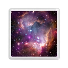 Galaxy Space Star Light Purple Memory Card Reader (square)  by Mariart