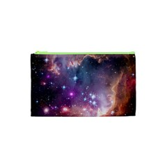 Galaxy Space Star Light Purple Cosmetic Bag (xs) by Mariart