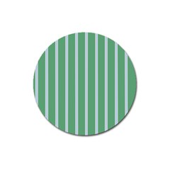 Green Line Vertical Magnet 3  (round) by Mariart