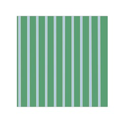 Green Line Vertical Small Satin Scarf (square) by Mariart