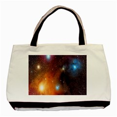 Galaxy Space Star Light Basic Tote Bag by Mariart
