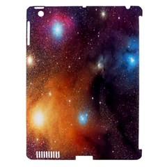 Galaxy Space Star Light Apple Ipad 3/4 Hardshell Case (compatible With Smart Cover) by Mariart