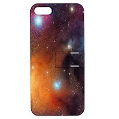 Galaxy Space Star Light Apple Iphone 5 Hardshell Case With Stand by Mariart