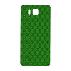 Green Seed Polka Samsung Galaxy Alpha Hardshell Back Case by Mariart
